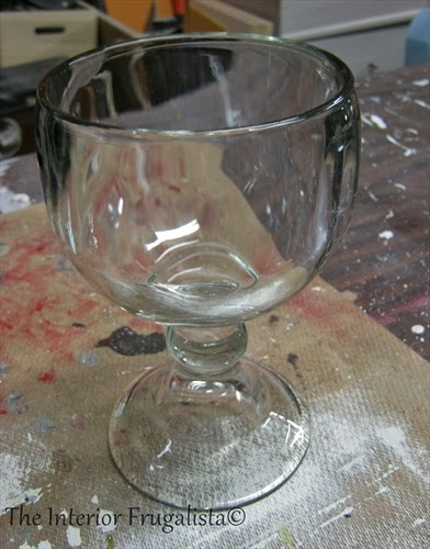 Clear Glass Before Turned Into Mercury Glass