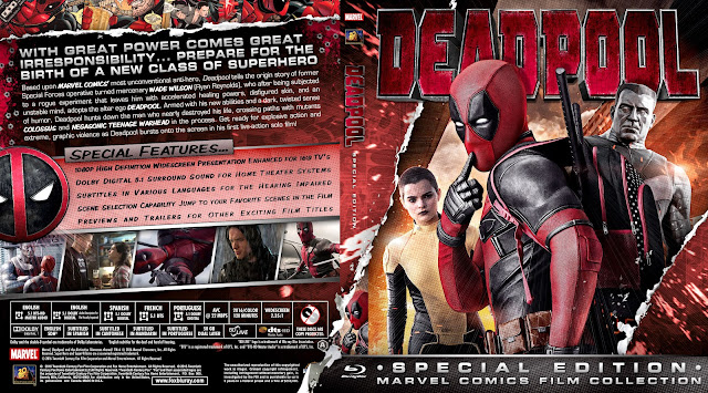 Capa Bluray Deadpool