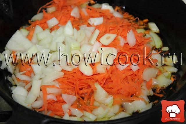 рецепт капустняка с пошаговыми фото