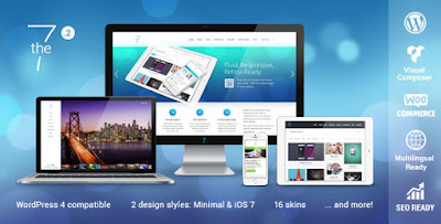 Free Download The7.2 v2.1.9 Responsive MultiPurpose WP Theme