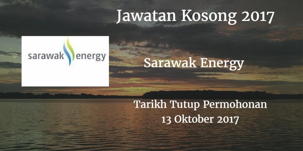 Jawatan Kosong Sarawak Energy 13 Oktober 2017