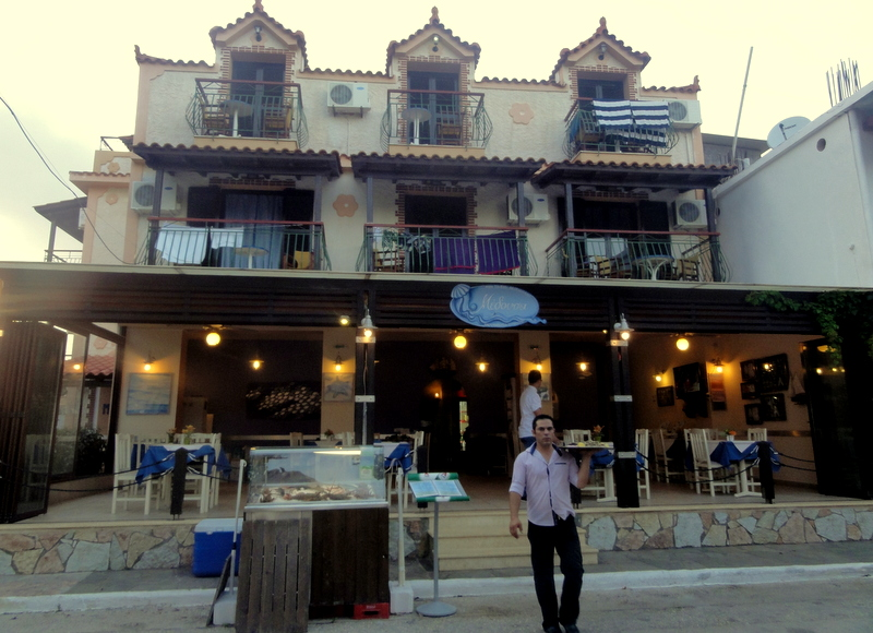 The Main Medusa Taverna With Its Indoor Seating Area And Kitchen Of Course During Summertime They Open Their Outdoor Terrace Where People Prefer To Sit