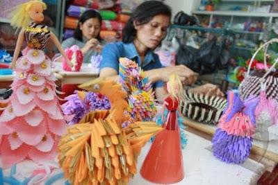 Tips Membuat Kerajinan Tangan Dari Kertas | Cara Membuat ...