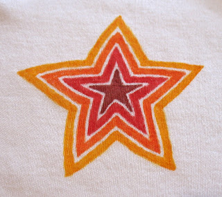 orange red star