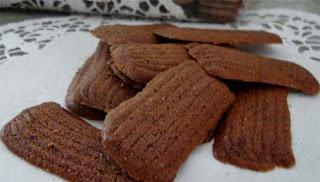 Resep Kue Lidah Kucing Coklat