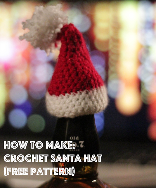 How To Make a Crochet Christmas Hat