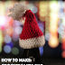 Mini Christmas Hat Crochet Free Pattern