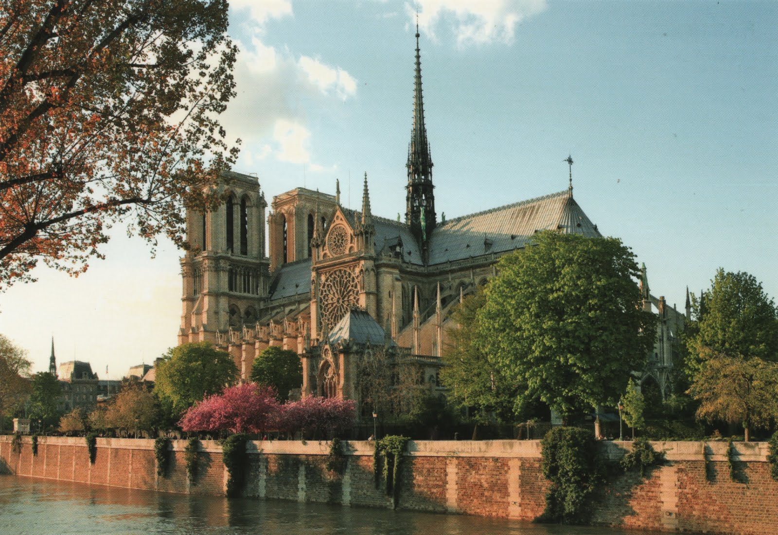 Historical Wallpapers Notre Dame Cathedral Cathedrale Notre Dame
