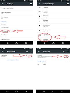 menghilangkan iklan dengan google chrome