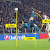 Physics of bicycle kick (scissors kick) in football soccer
