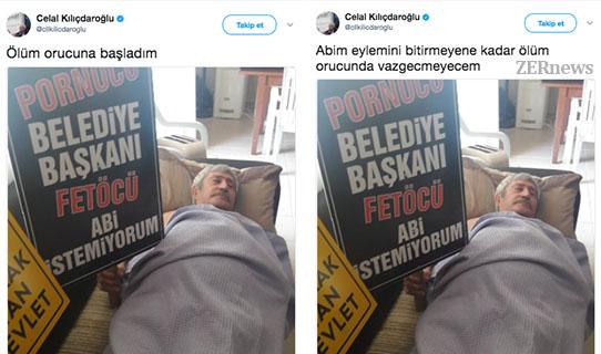 Kemal Kılıçdaroğlu Kardeşi Celal Kılışdaroğlu Ölüm Orucu