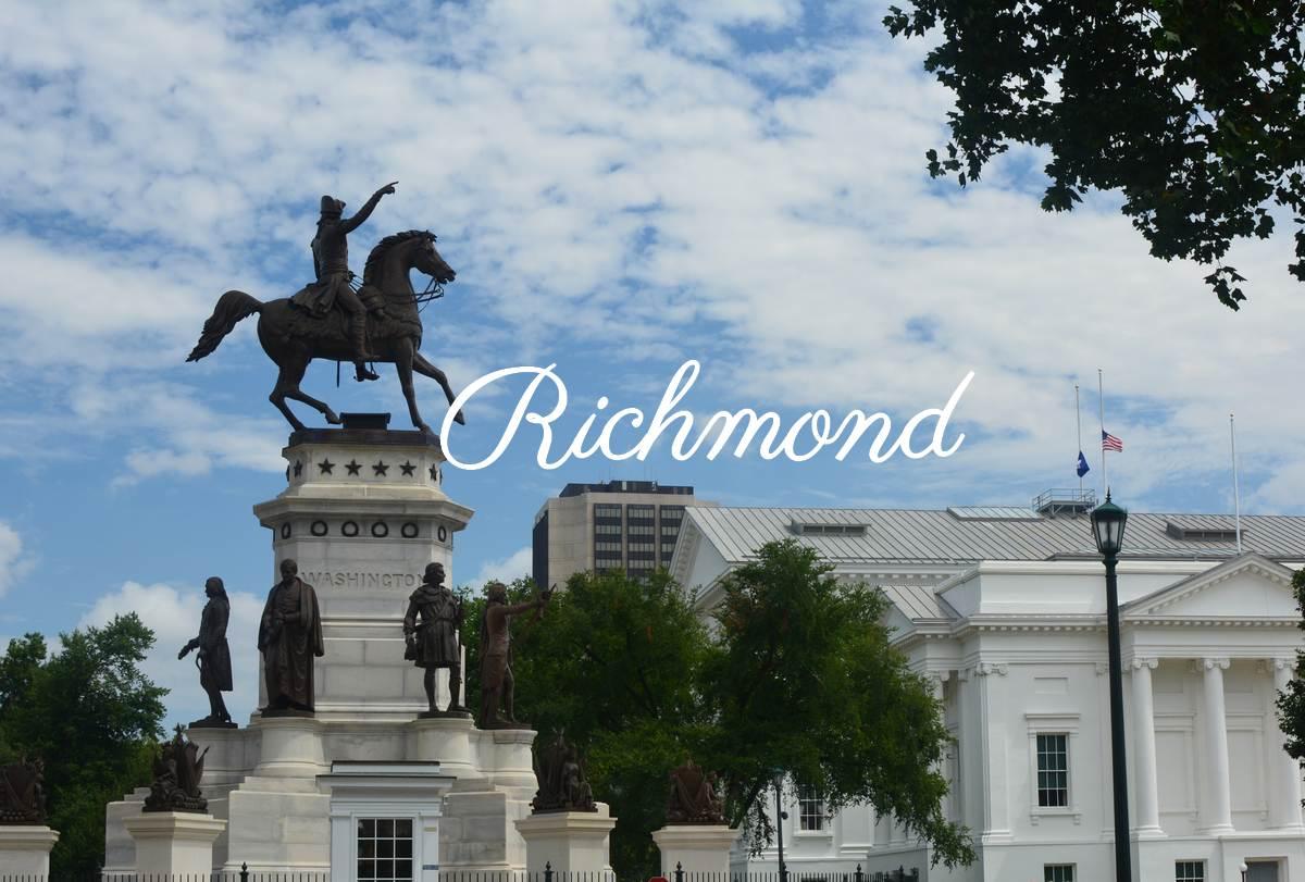 Richmond la capitale de la Virginie