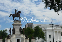 Richmond la capitale de la Virginie