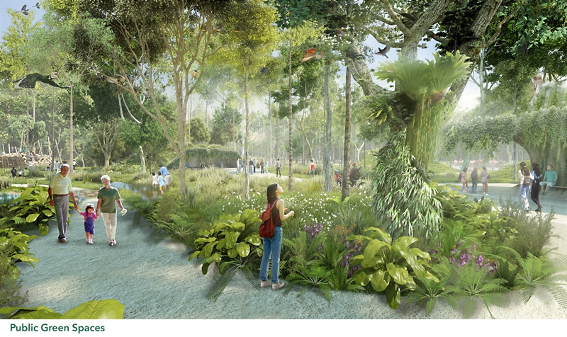 Singapore will soon have a wildlife and nature attraction in Mandai, complete with eco-lodges and a rainforest-themed park where visitors can get up close to wildlife.