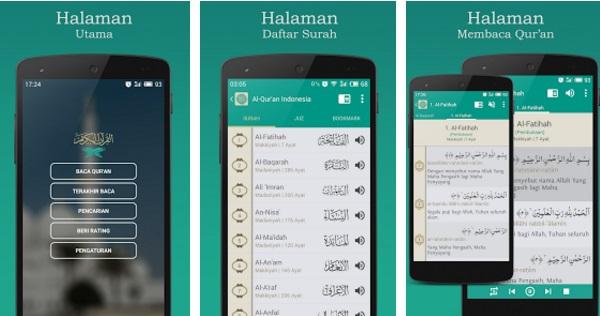 Hasil gambar untuk Aplikasi Qur'an For Android