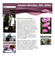 View Amber's eFolio Site