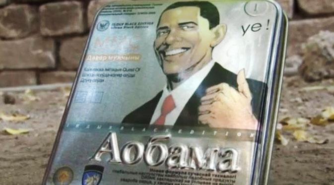 Ada Viagra `Aobama`Berwajah Obama