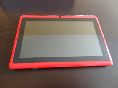 pink MID-756 tablet