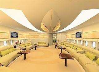 Bên trong chiếc máy bay 500 triệu đô