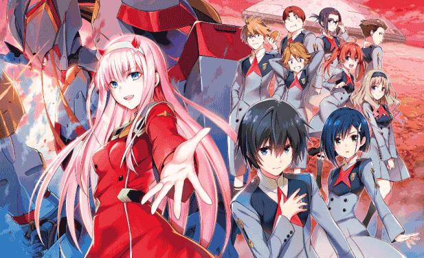 Darling in the FranXX - Anime Romance 2018 Terbaik