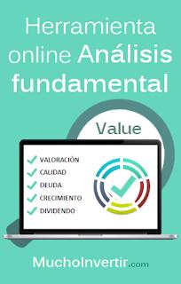 Herramienta online análisis fundamental