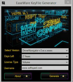 driver navigator v3.6.6 working license key and keygen generator