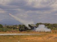 Kostrad Uji Coba Penembakan Roket Astros