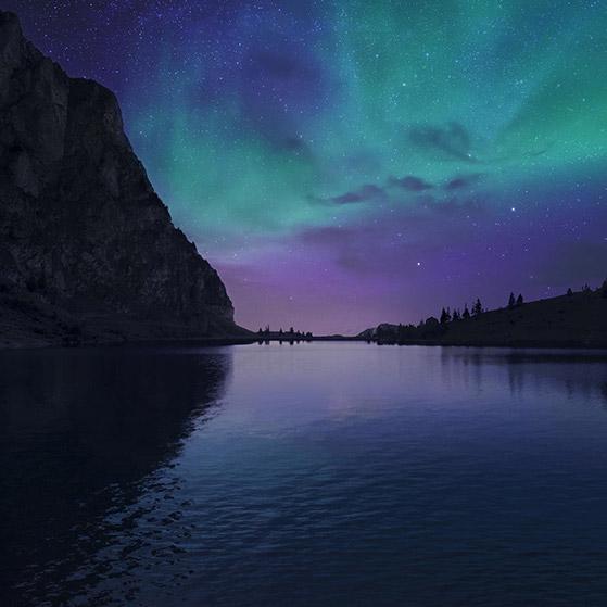 Lake Aurora - Tomtomtom 289 Wallpaper Engine
