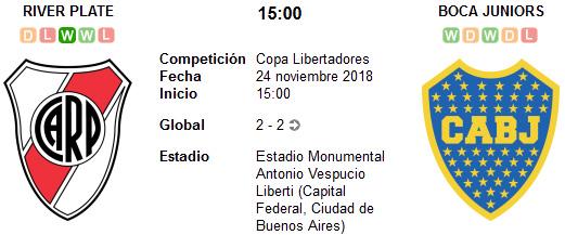 River Plate vs Boca Juniors en VIVO