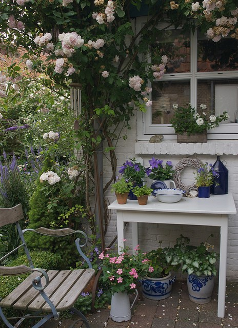Attempting Dream Images Shabby Chic Garden Style
