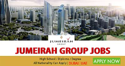 Latest Jobs At Jumeirah Group Dubai