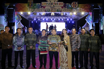 Kabupaten Lampung Timur Juara Umum Peserta Lampung Fair 2018