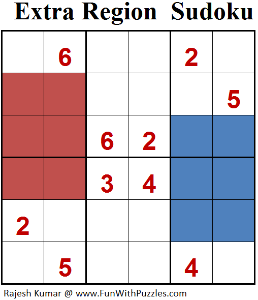 Extra Region Sudoku (Mini Sudoku Series #74)