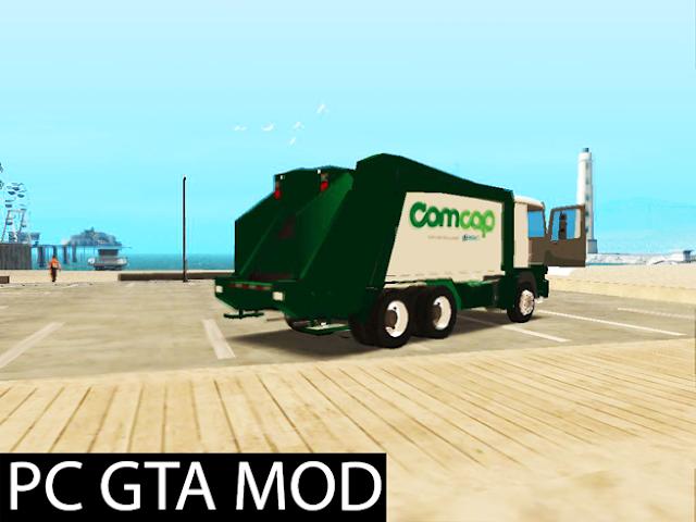 Download Mercedes-Benz Actros Trash Prefeitura de Florianópolis Mod for GTA San Andreas