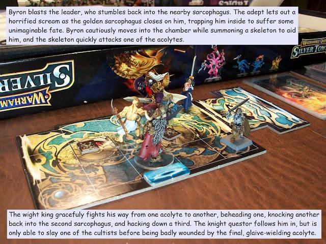 warhammer quest silver tower trial of shyish
