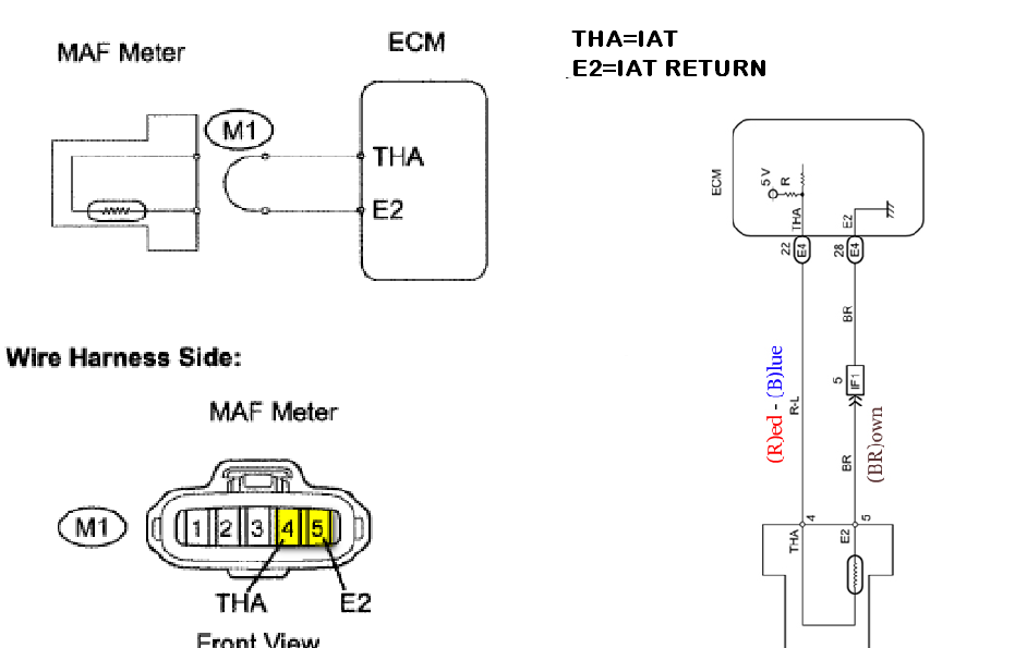iat sensor performance chip installation procedure: 2000-2012 toyota tacoma iat sensor/maf ... iat wiring diagram 1995 blazer