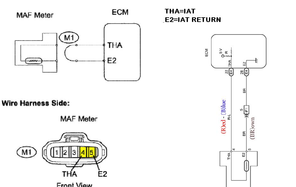 nissan m air flow sensor