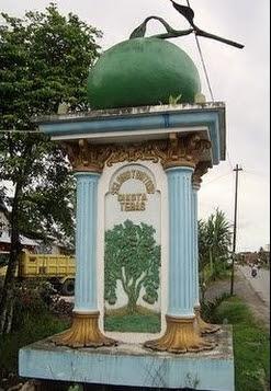 7 Monument Inscription in Sambas