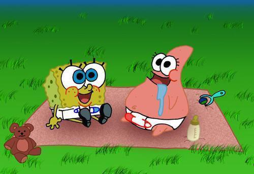Patrick and Spongebob Baby Wallpapers | Cute Spongebob ...