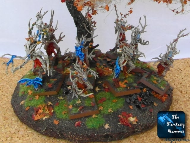Wood Elves Dryads with Branchwraith conversion