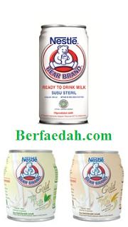 manfaat minum susu beruang