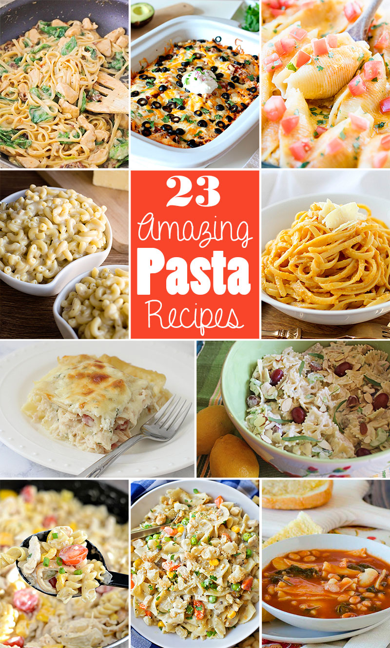 23 amazing pasta recipes from your favorite food bloggers!
