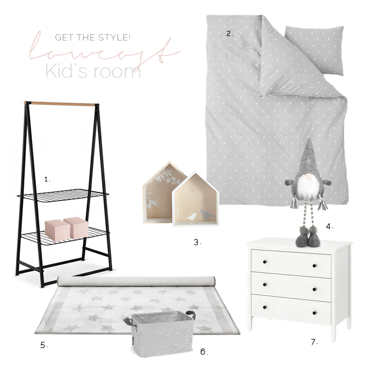 "Low cost decor for kid´s room - Decorar un cuarto infantil ""low cost"""