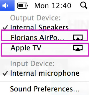 AirPlay Audio Streaming on Mac