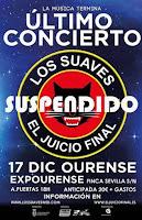 Suspendido el concierto de Despedida de Los Suaves en Ourense