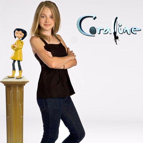 Dakota Fanning Coraline 2009 animatedfilmreviews.filminspector.com