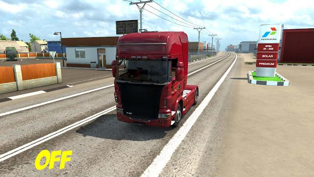 Mod Graphic Nusantara Weather Euro Truck Simulator 2