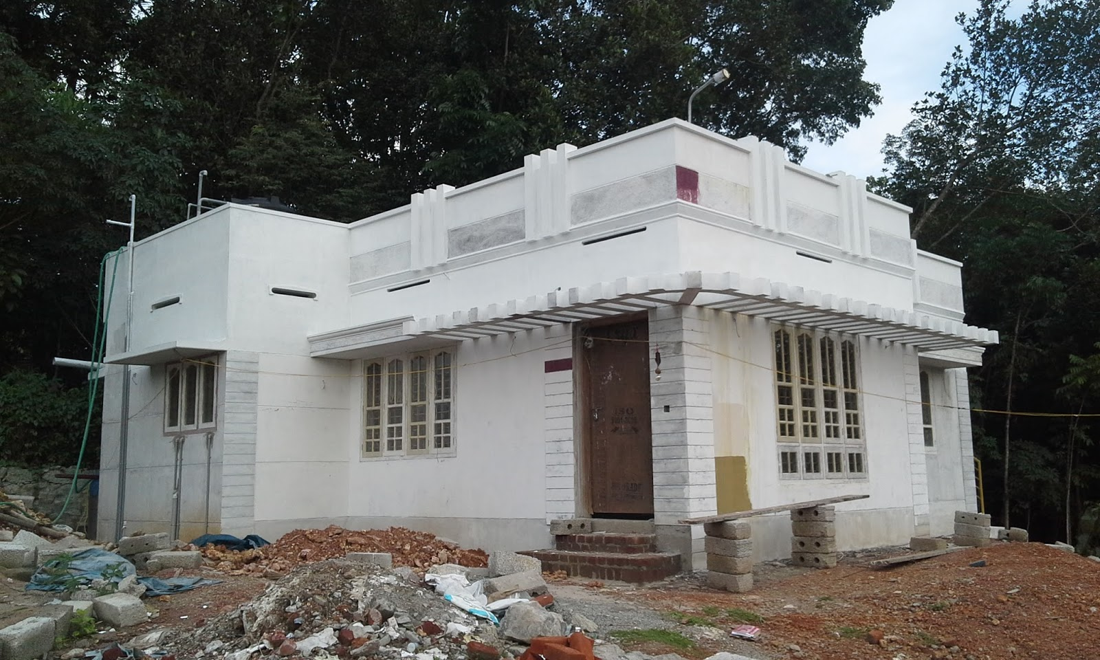 Kerala House Construction Tips 12 Painting