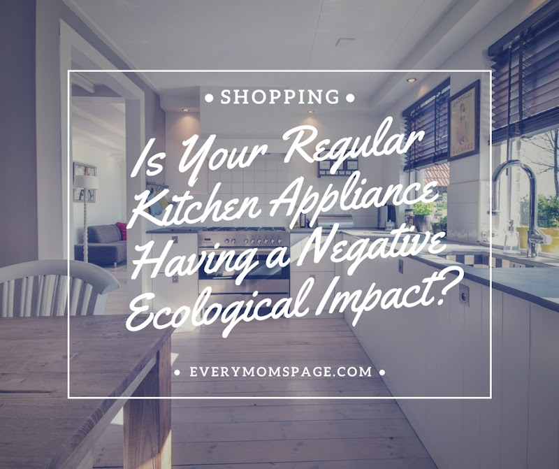 Is Your Regular Kitchen Appliance Having a Negative Ecological Impact?