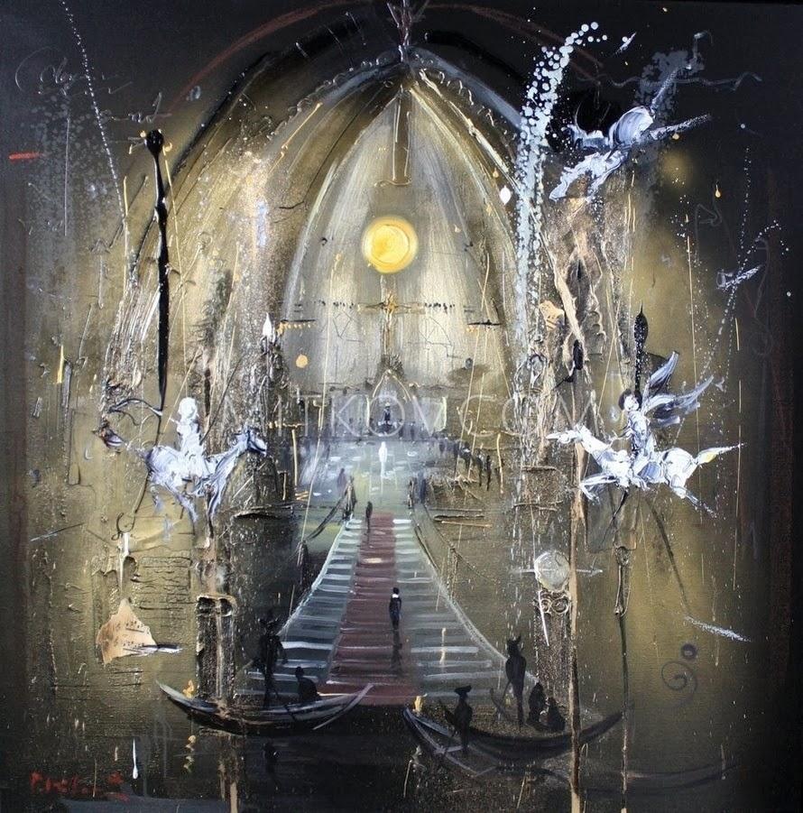 Pavel Mitkov  ~ Pintor Impressionista Abstrato